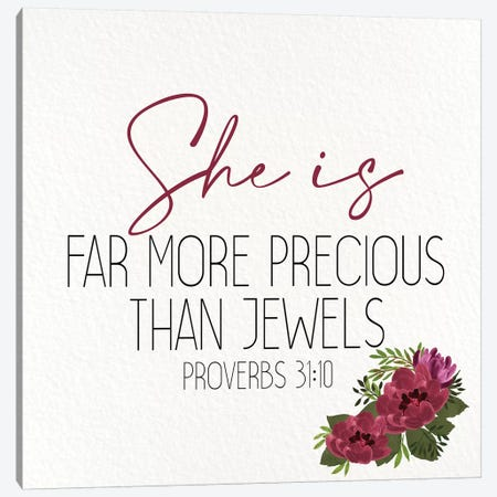 She Is II Canvas Print #KAL453} by Kimberly Allen Canvas Art Print