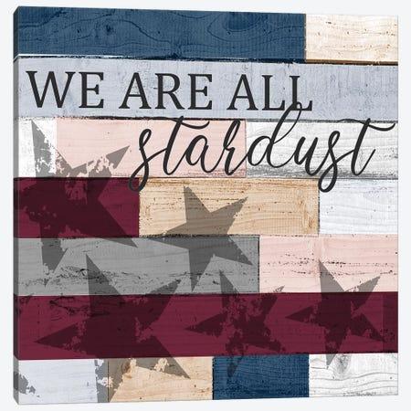 Stardust Canvas Print #KAL456} by Kimberly Allen Canvas Art