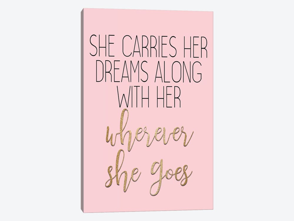 Wherever She Goes by Kimberly Allen 1-piece Art Print