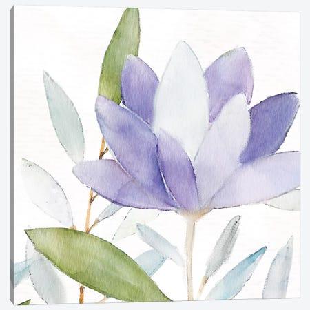 Purple Spring II Canvas Print #KAL47} by Kimberly Allen Canvas Artwork