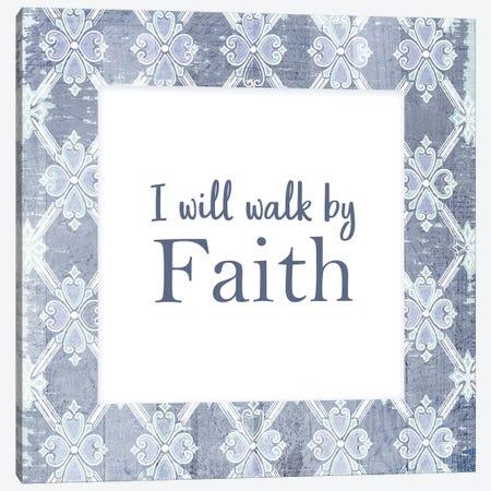 By Faith Canvas Print #KAL485} by Kimberly Allen Art Print