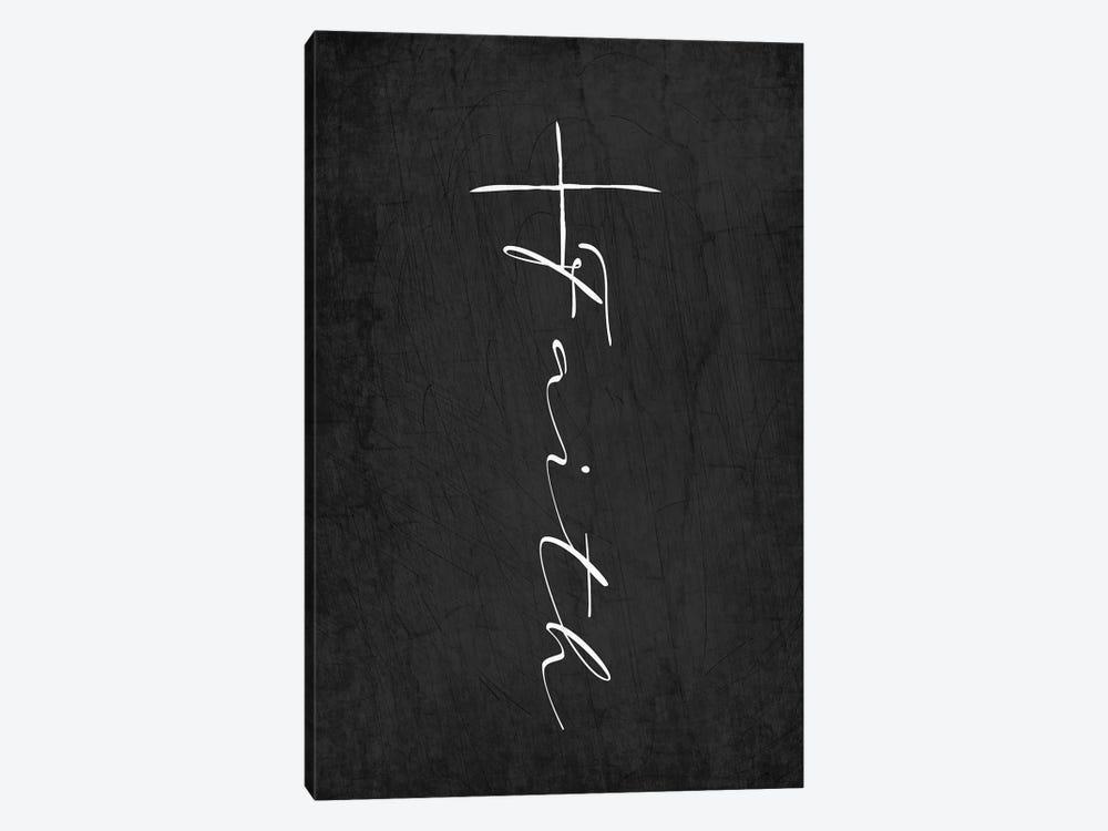 Faith Cross by Kimberly Allen 1-piece Canvas Art