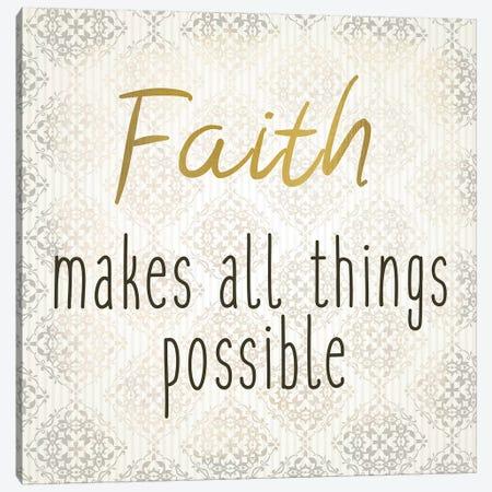 Faith Hope Love I Canvas Print #KAL491} by Kimberly Allen Canvas Art Print