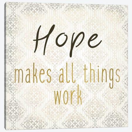 Faith Hope Love II Canvas Print #KAL492} by Kimberly Allen Art Print