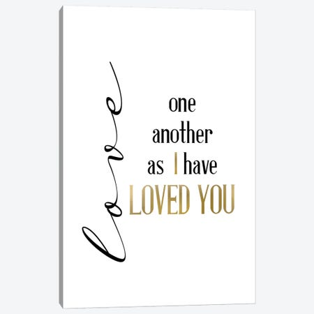 Infinite Love  Canvas Print #KAL499} by Kimberly Allen Art Print