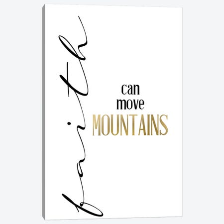 Mountain Faith Canvas Print #KAL501} by Kimberly Allen Art Print