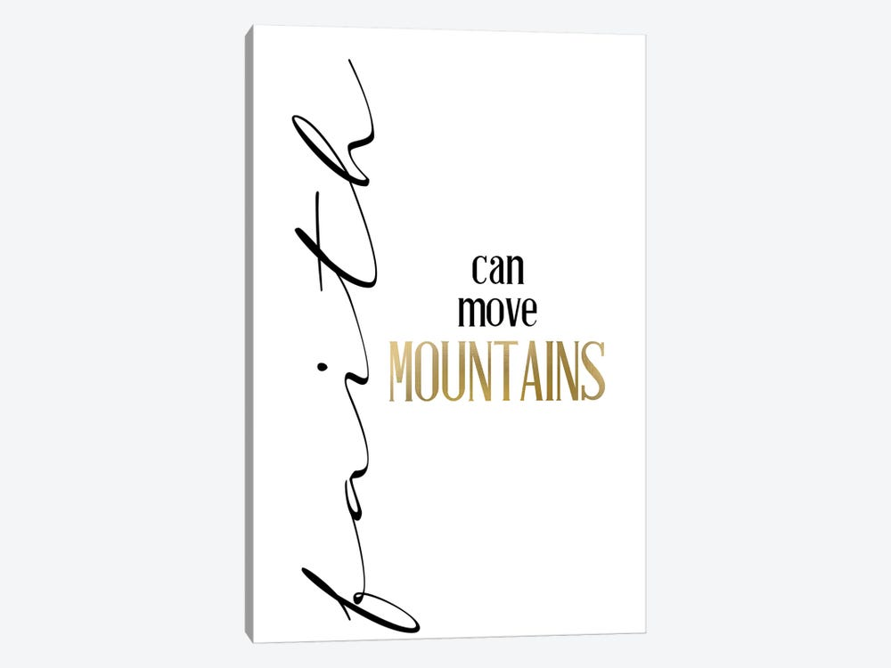 Mountain Faith by Kimberly Allen 1-piece Canvas Wall Art