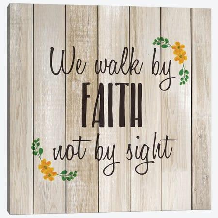 We Walk by Faith Canvas Print #KAL502} by Kimberly Allen Canvas Art Print