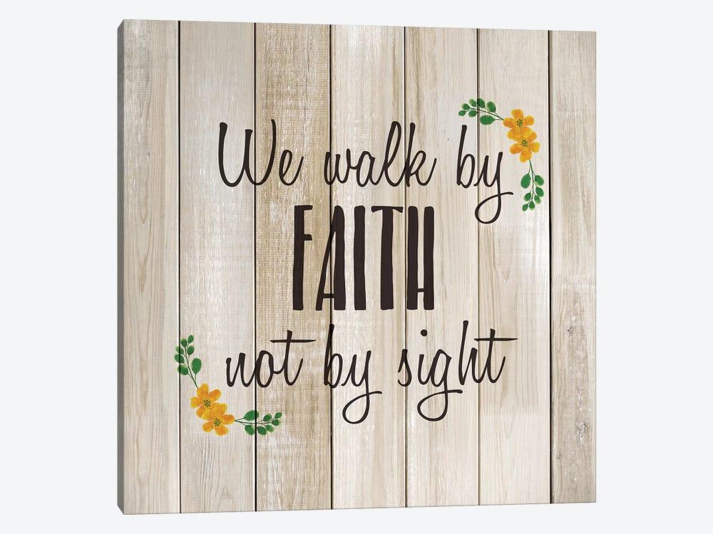 We Walk by Faith by Kimberly Allen 1-piece Art Print