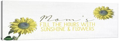 Moms Fill Canvas Art Print