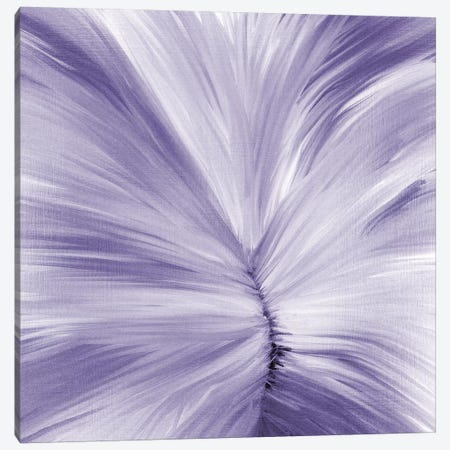 Stitches Of Violet Canvas Print #KAL50} by Kimberly Allen Canvas Wall Art