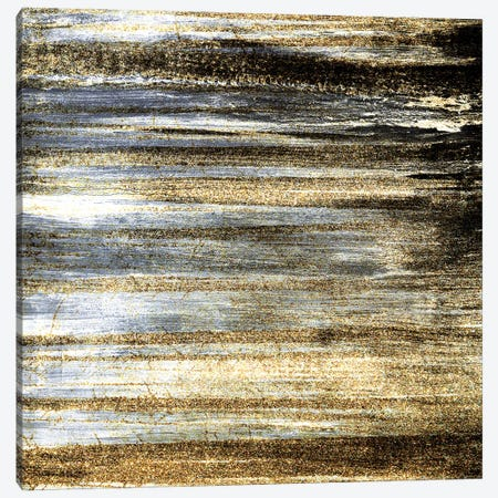 Brushed Gold Canvas Print #KAL522} by Kimberly Allen Canvas Print