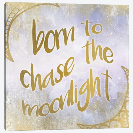 Born to Chase Canvas Print #KAL52} by Kimberly Allen Canvas Artwork