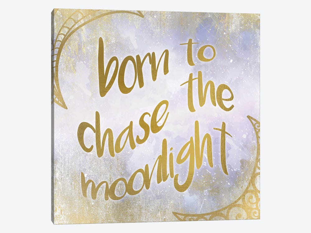 Born to Chase by Kimberly Allen 1-piece Canvas Print
