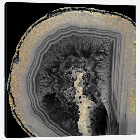 Inverted Agate Canvas Print #KAL535} by Kimberly Allen Art Print