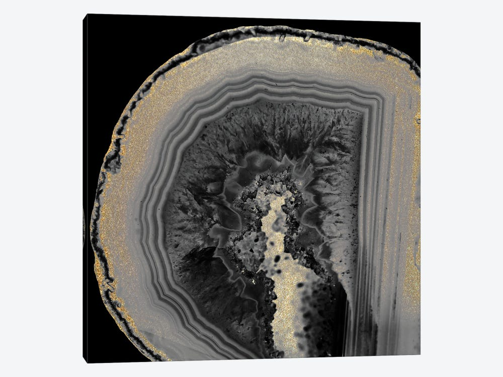 Inverted Agate by Kimberly Allen 1-piece Art Print