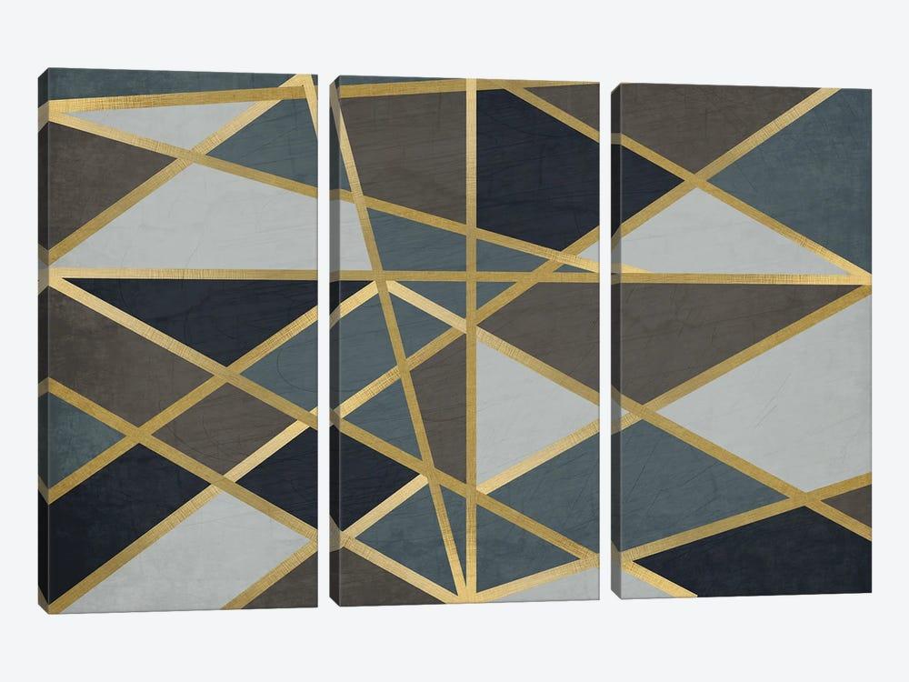 Maze by Kimberly Allen 3-piece Canvas Art
