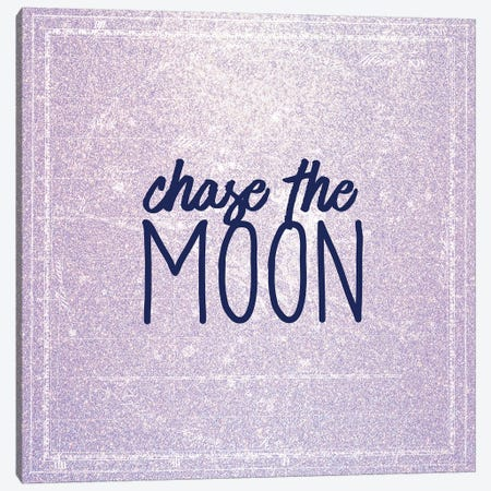 Chase the Moon Canvas Print #KAL53} by Kimberly Allen Canvas Artwork