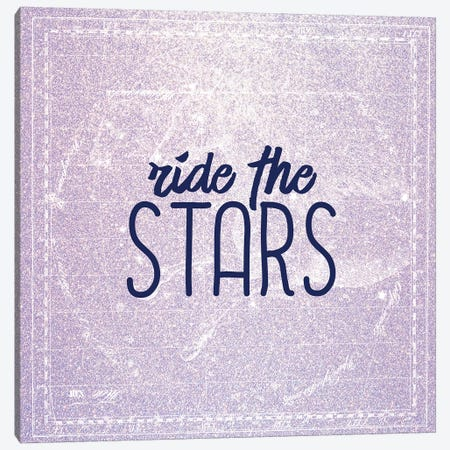 Ride the Stars Canvas Print #KAL55} by Kimberly Allen Canvas Art Print