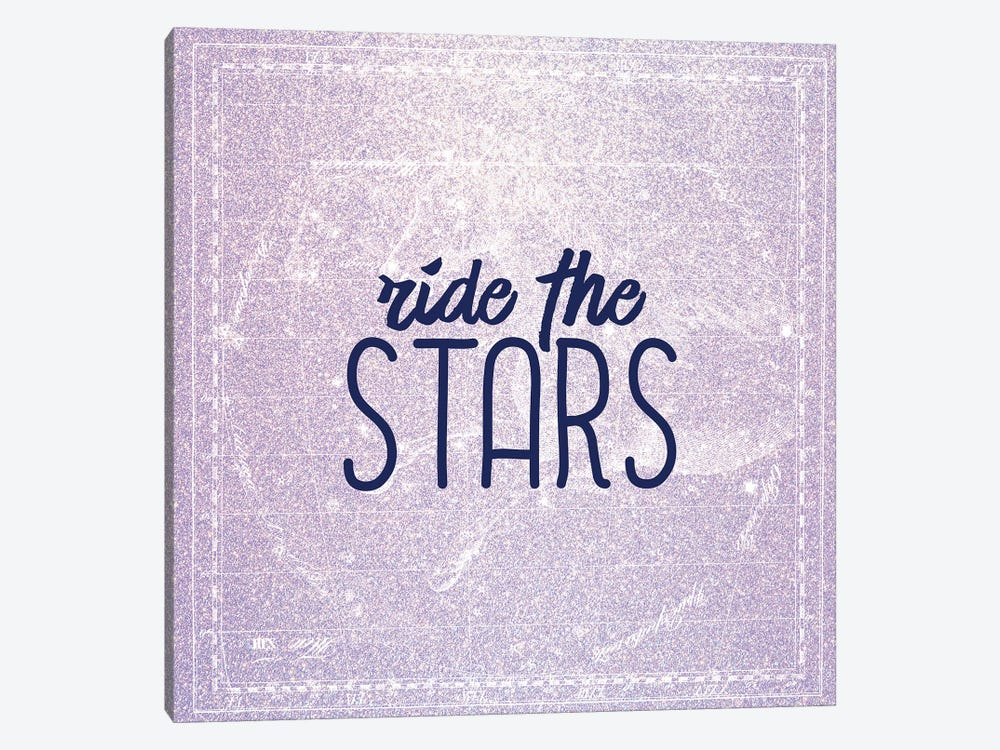 Ride the Stars 1-piece Canvas Art