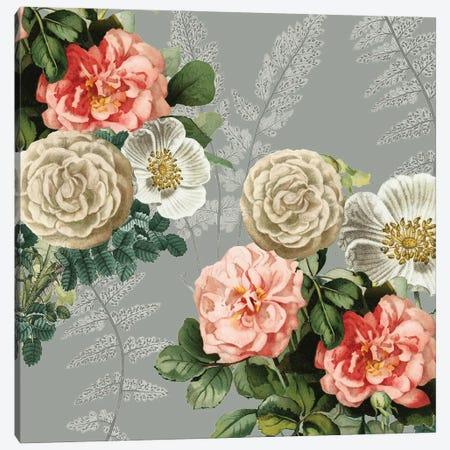 Ava Floral Canvas Print #KAL560} by Kimberly Allen Canvas Print