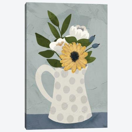 Flowers III Canvas Print #KAL566} by Kimberly Allen Canvas Wall Art