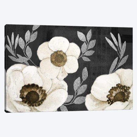 Gilded Anemones Canvas Print #KAL567} by Kimberly Allen Canvas Artwork