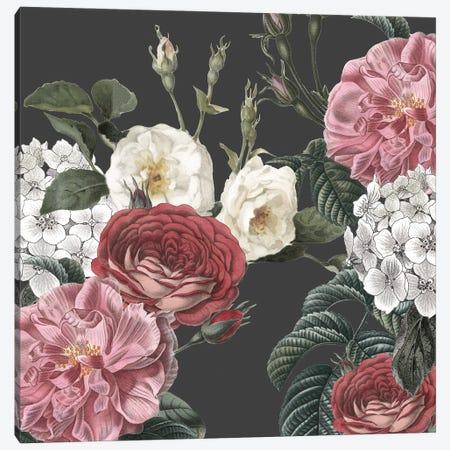 Isabella Floral Canvas Print #KAL575} by Kimberly Allen Canvas Art Print