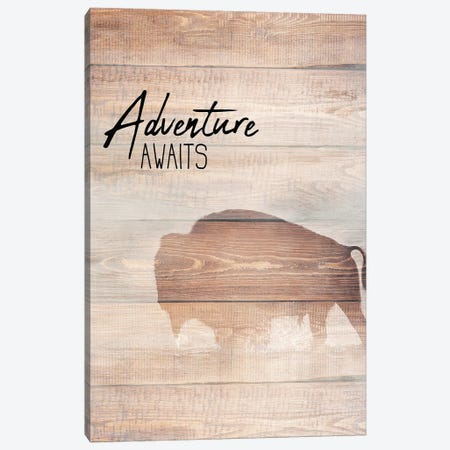Adventure Awaits Canvas Print #KAL58} by Kimberly Allen Canvas Artwork