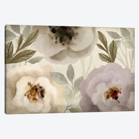 Simplicity Floral Canvas Print #KAL593} by Kimberly Allen Canvas Artwork