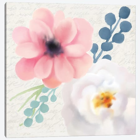 Spring Floral I 3-Piece Canvas #KAL595} by Kimberly Allen Art Print
