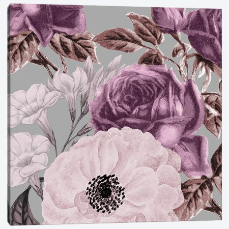 Waverly Floral Canvas Print #KAL601} by Kimberly Allen Canvas Wall Art