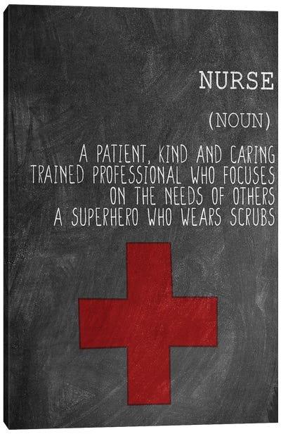A Nurse Canvas Art Print