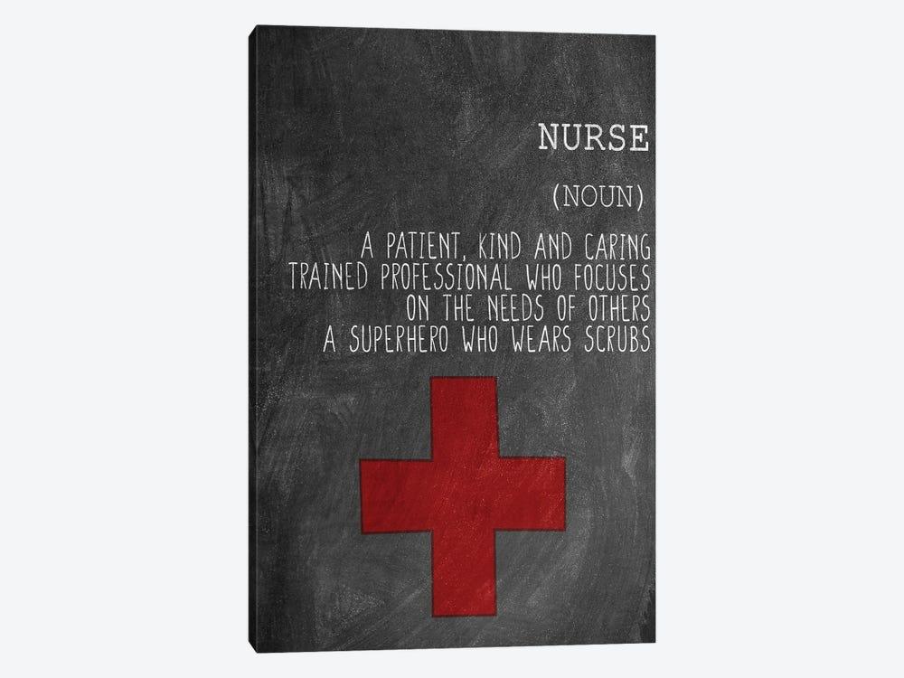 A Nurse by Kimberly Allen 1-piece Canvas Wall Art