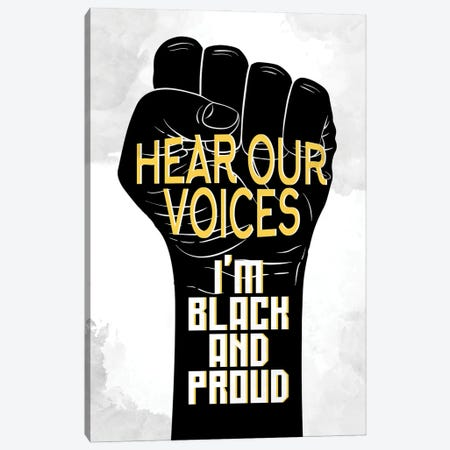 Hear Our Voices Canvas Print #KAL618} by Kimberly Allen Canvas Art Print