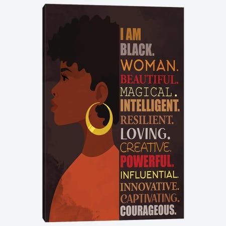 I Am Canvas Print #KAL619} by Kimberly Allen Canvas Print