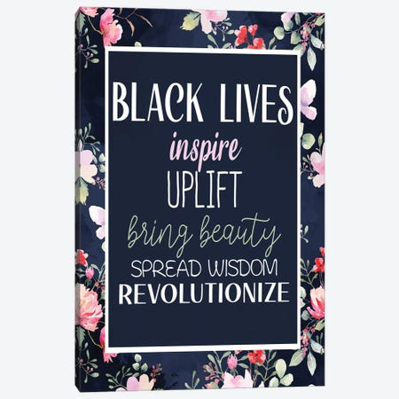 Inspire II Canvas Print #KAL620} by Kimberly Allen Canvas Artwork