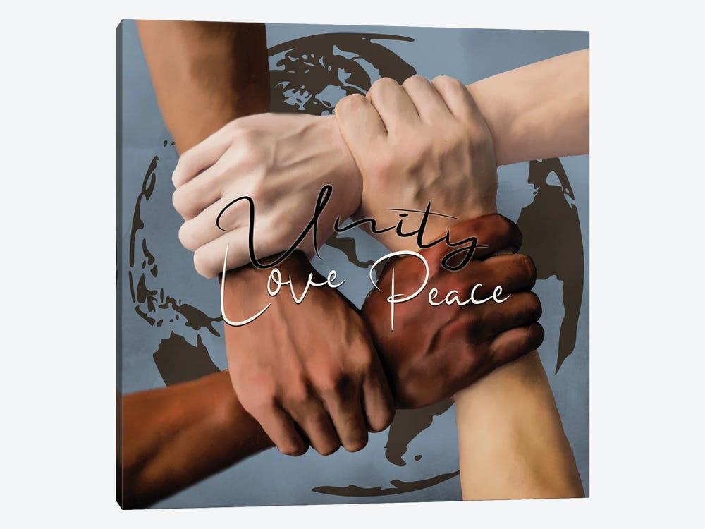 Unity II by Kimberly Allen 1-piece Canvas Art