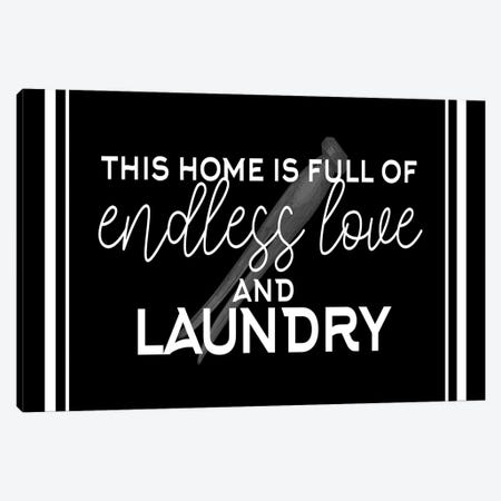 Endless Love and Laundry Canvas Print #KAL628} by Kimberly Allen Canvas Artwork