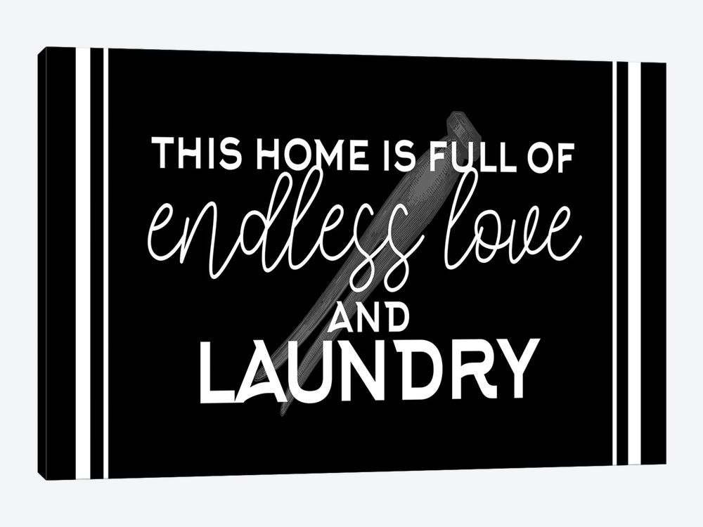 Endless Love and Laundry by Kimberly Allen 1-piece Canvas Art Print