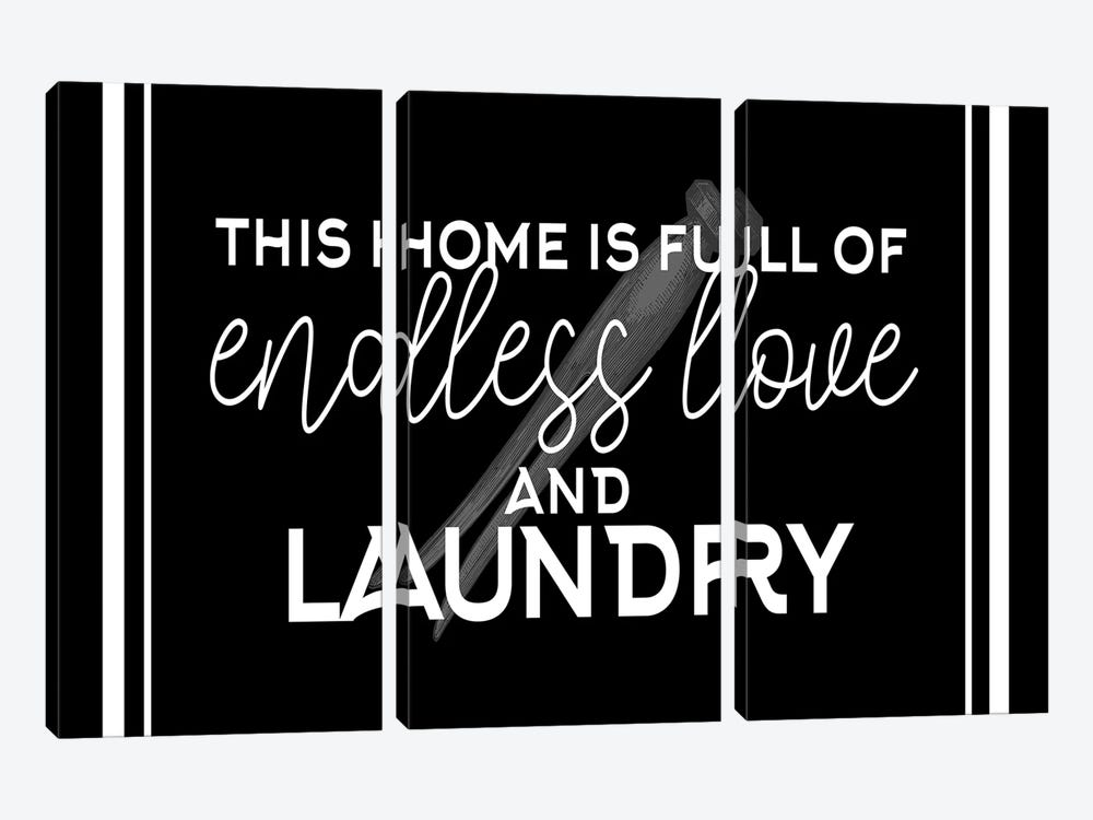 Endless Love and Laundry by Kimberly Allen 3-piece Art Print