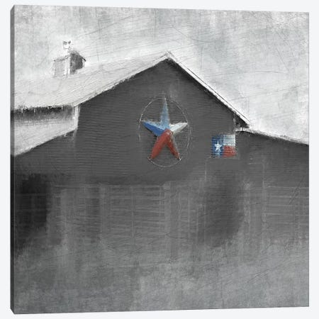 Star Barn Canvas Print #KAL62} by Kimberly Allen Art Print