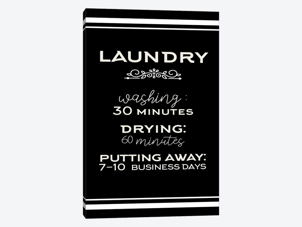 Laundry Days by Kimberly Allen 1-piece Canvas Art Print