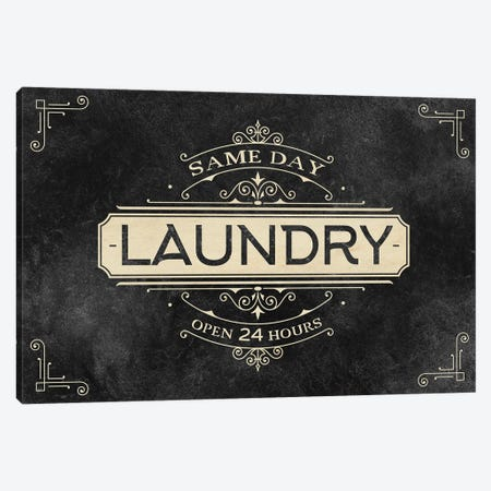 Laundry Open 24 Canvas Print #KAL634} by Kimberly Allen Canvas Art