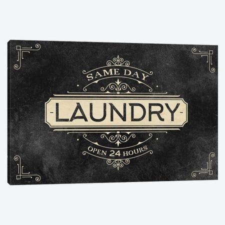 Laundry Open 24 Canvas Print #KAL634} by Kimberly Allen Canvas Art