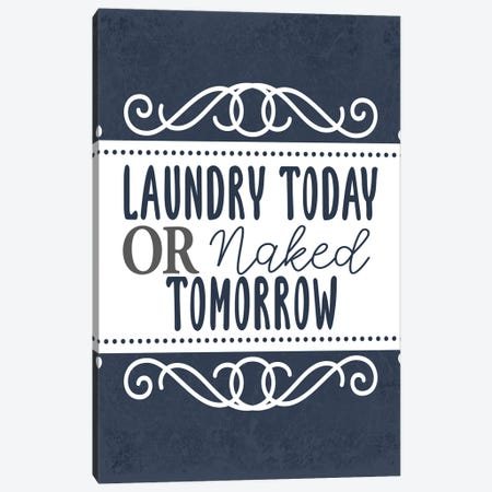 Laundry Today I Canvas Print #KAL637} by Kimberly Allen Canvas Art