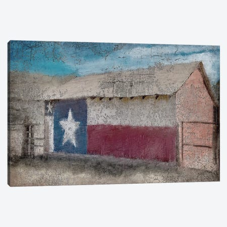 Texas Barn Canvas Print #KAL63} by Kimberly Allen Canvas Art Print