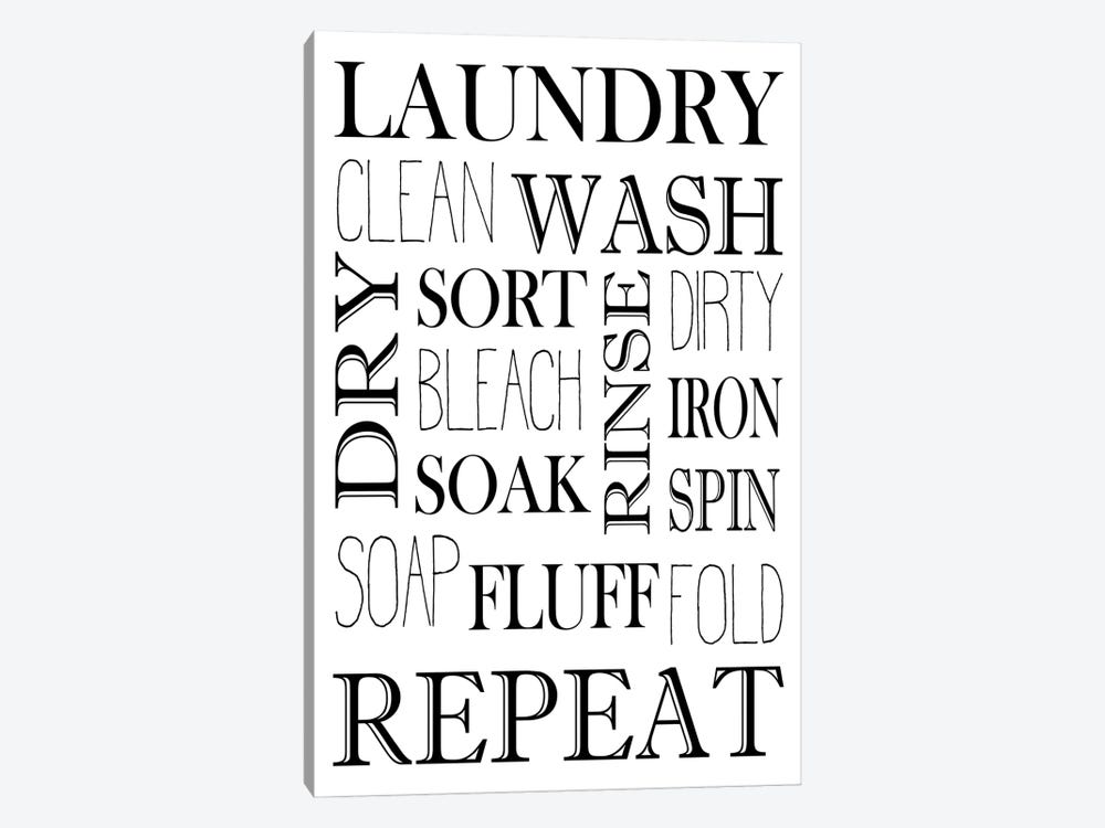 Repeat Laundry by Kimberly Allen 1-piece Canvas Art Print