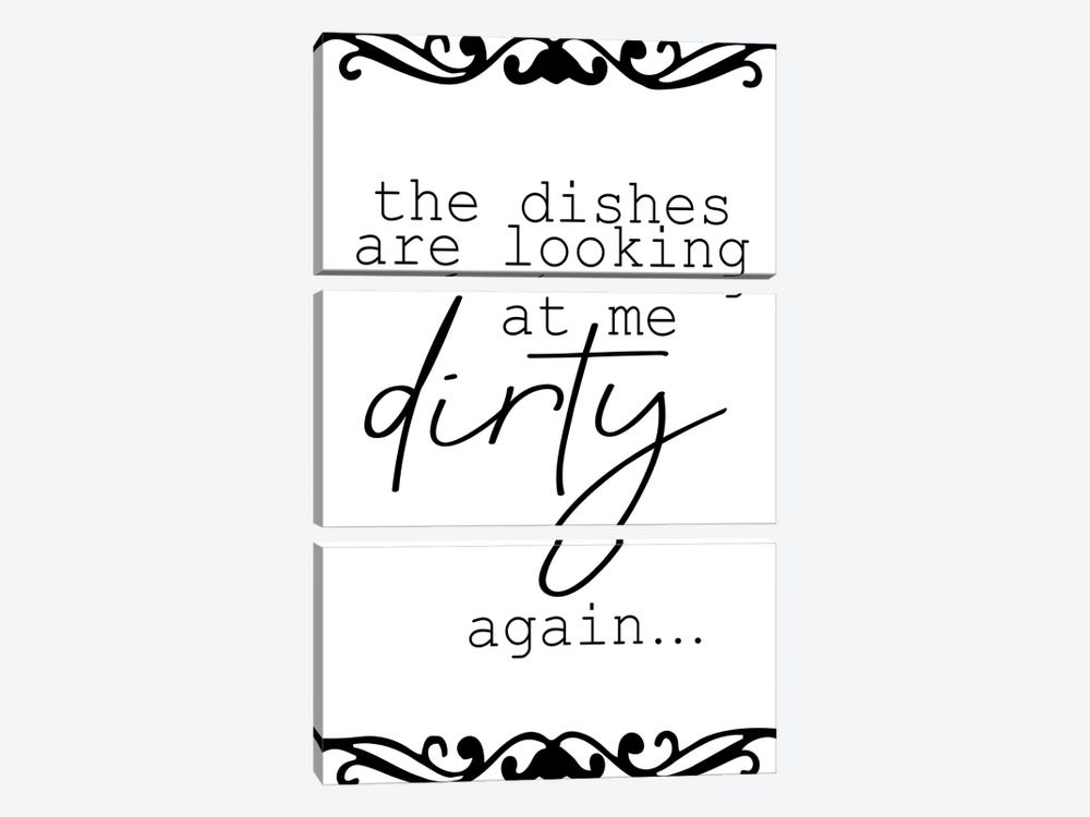 The Dishes by Kimberly Allen 3-piece Canvas Art