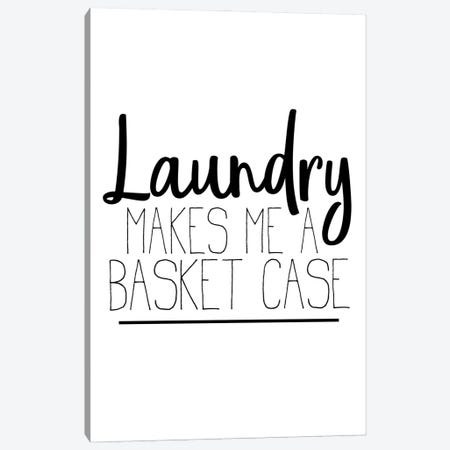 The Laundry III Canvas Print #KAL650} by Kimberly Allen Art Print